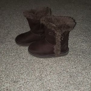 💜3 for $10💜 brown furry boots